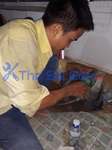 Dò tìm nước âm rò rỉ tại Tp Hồ Chí Min