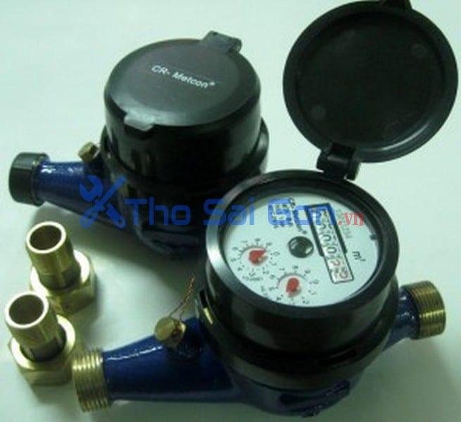 Lắp đặt đồng hồ đo nước cho phòng trọ nhà trọ