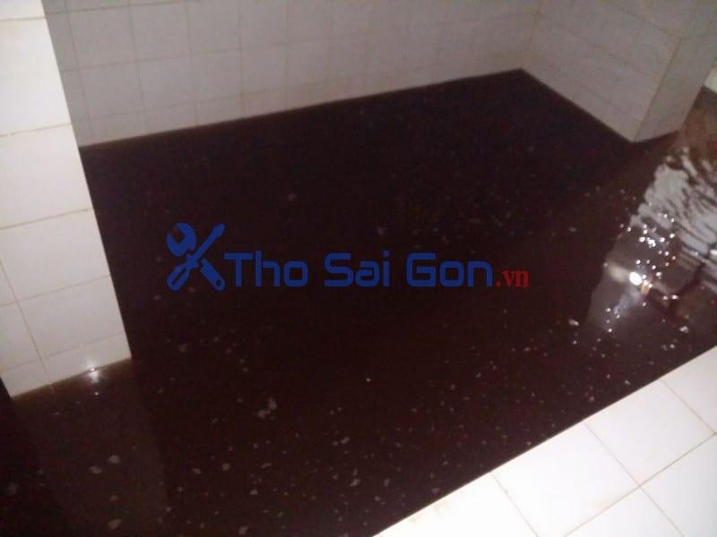 Dịch vụ thau rửa vệ sinh bể nước ngầm quận 7