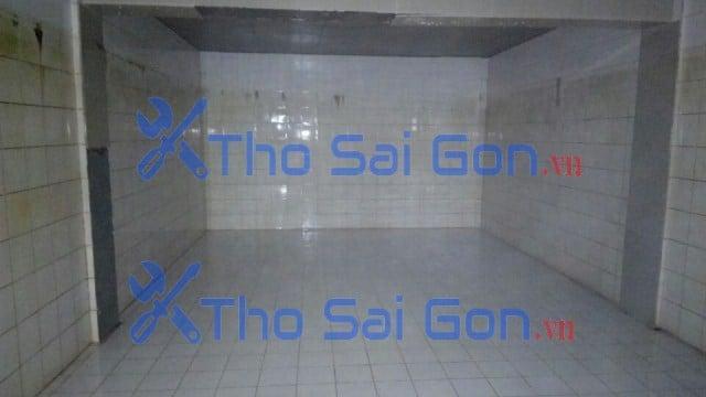 Vệ sinh bể nước ngầm chung cư quận 2