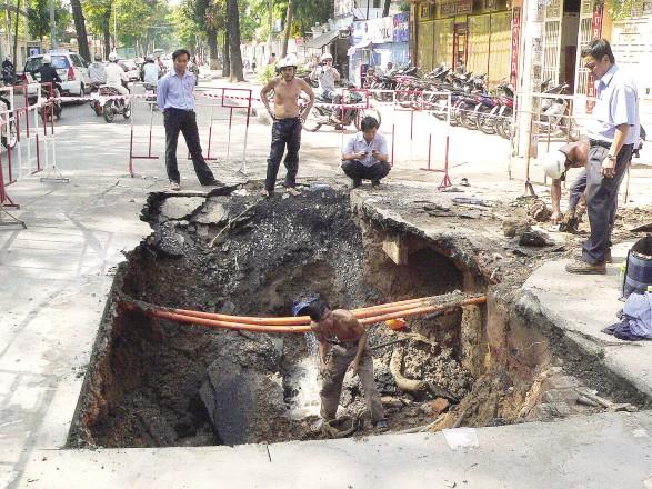 Dịch vụ dò tìm nước âm nền, âm tường giá rẻ tại TP hồ Chí Minh