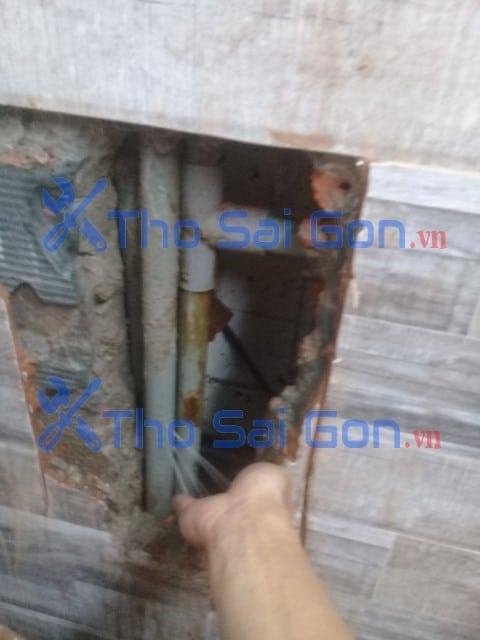 Sửa ống nước âm tường bị bể tại Quận 11
