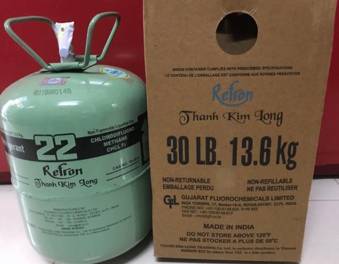 bảng giá gas máy lạnh